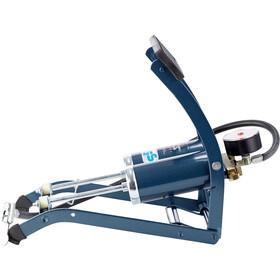 SKS Twin Air Foot Pump blue